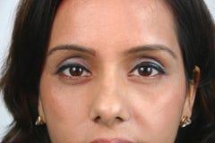 Cara india (series) Foto de archivo