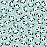 Cara linda de la panda wallpaper Fotos de archivo libres de regalías