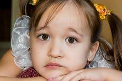 Cara linda de una niña Fotografía de archivo libre de regalías