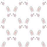 Cara linda del conejo Foto de archivo