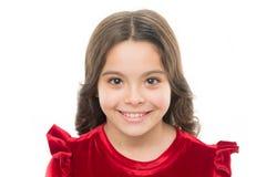 Cara linda feliz del niño con el pelo rizado adorable Extremidades de la belleza para el pelo ordenado Cuidado de piel joven Bell fotografía de archivo