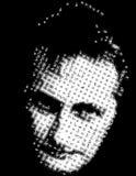Cara masculina ilustración del vector