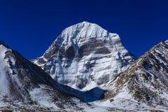 Cara norte bonita da montanha sagrado de Kailash, Tibet fotos de stock