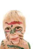 Cara pintada Foto de archivo libre de regalías