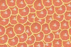 Cara pomarańczowy plasterek odizolowywa na białym tle nad widok, Zdjęcie Royalty Free