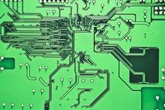 Cara posterior del circuito Imagen de archivo libre de regalías