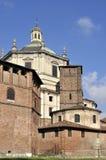 Cara posterior del sur de San Lorenzo, Milano Fotos de archivo libres de regalías