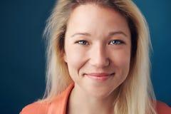 Cara real de la persona Foto de archivo libre de regalías