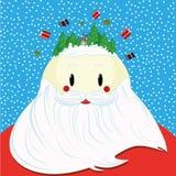 Cara Santa ilustração royalty free