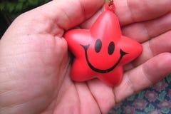 Cara sonriente Foto de archivo libre de regalías