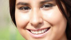 Cara sonriente de la persona Fotografía de archivo