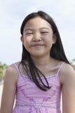 Cara sonriente de niños asiáticos Imagenes de archivo