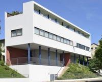 Cara suroriental de la casa de Courbusier, Weissenhof, Stuttgart Foto de archivo