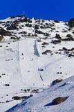 Cara Vert de la colina del alto pico del SM Fotografía de archivo