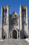 Cara vieja de la iglesia Fotos de archivo