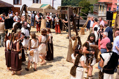 CARABANZO  Festival .Asturias. SPAIN Stock Photography