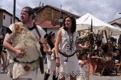 CARABANZO festival. Asturias. SPANJE Stock Foto