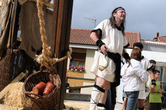 CARABANZO festival. Asturias. SPANJE Royalty-vrije Stock Afbeelding