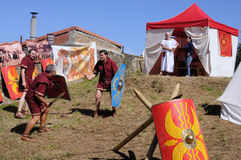 CARABANZO festival. Asturias. SPANJE Royalty-vrije Stock Afbeeldingen