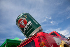 Carabao jeep in srilanka Royalty Free Stock Images