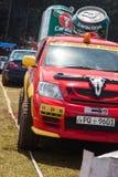 Carabao jeep in srilanka Stock Image