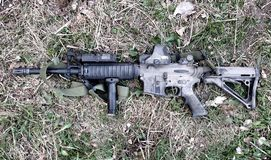 Carabine AR-15 Images stock