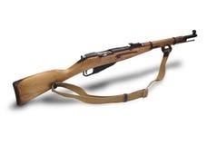 carabine mosin步枪俄国短的系统 免版税库存照片