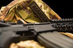 Carabine na mundurze Zdjęcia Stock