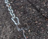 Carabiner и цепь в hdr Стоковое Фото