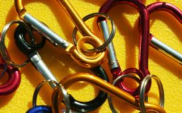 Carabiner Royalty Free Stock Images