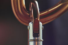 Carabiner Стоковое Фото