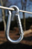 Carabiner Royalty Free Stock Image