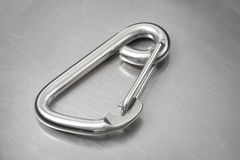 Carabiner hook Royalty Free Stock Image