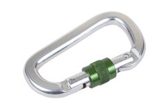 Carabiner hook Stock Image
