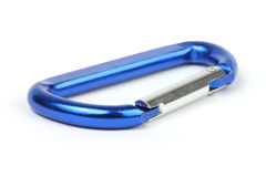 Carabiner keyring Stock Photography