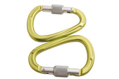 Carabiner Royalty Free Stock Photography