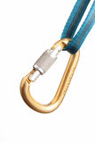 Carabiner and strap Royalty Free Stock Images