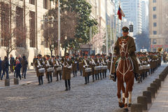 Carabineros de Chile Stock Images