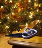 Carabiners для рождества Стоковое фото RF
