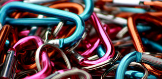 Carabiners Stock Image