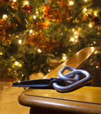 Carabiners voor Kerstmis Royalty-vrije Stock Foto