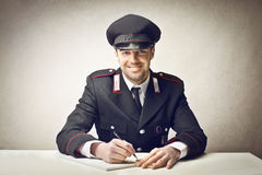 Carabiniere Royalty Free Stock Images
