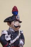 Carabiniere statue Stock Photo