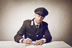 Carabiniere Royalty Free Stock Photo