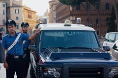 Carabinieri Royalty Free Stock Photo