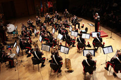 Carabinieri army concert for Nassiriya victims Royalty Free Stock Photo