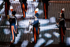 The Carabinieri band of Italy from Rome at the Red Square Stock Photo