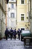 Carabinieri em Roma Imagem de Stock