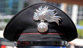 Carabinieri Hat Stock Image