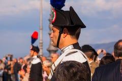 Carabinieri, Italian policemen Stock Photography
